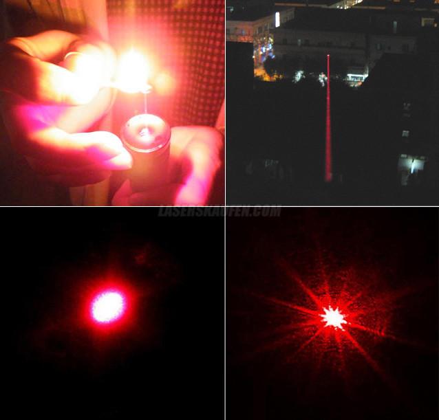 roten Laserpointer brennen