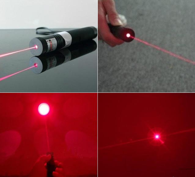 Roten Laserpointer 200mW 650nm