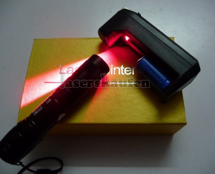 laserpointer rot