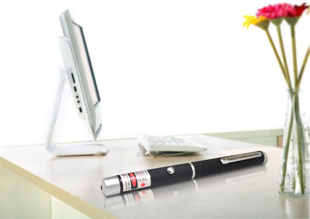 Laserpointer Stift Rot 5mW