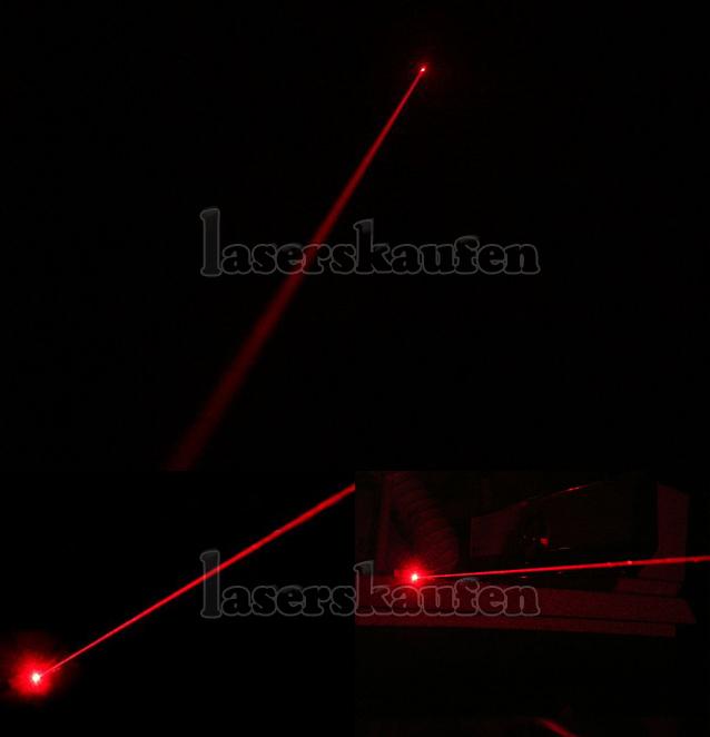 Laserpointer Rot 200mW hohe Leistung