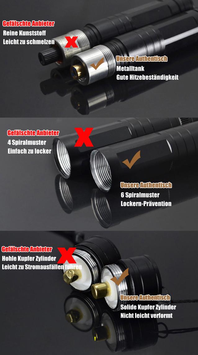 Laserpointer Rot 50mW kaufen