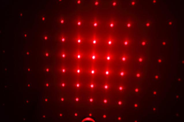 Laserpointer Rot mit Aufsätze