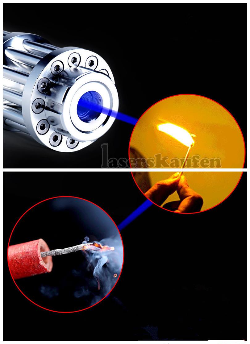Ultra Blauer Laserpointer 5000mw