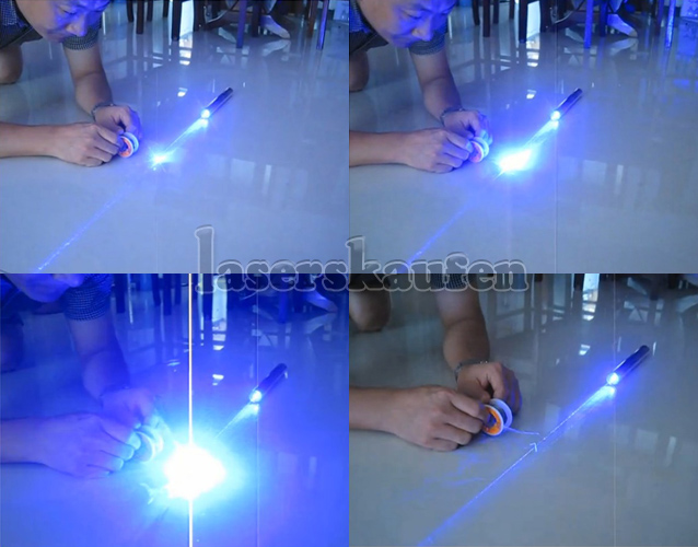 Laserpointer Blau 20000mW mit Kupfer-Material