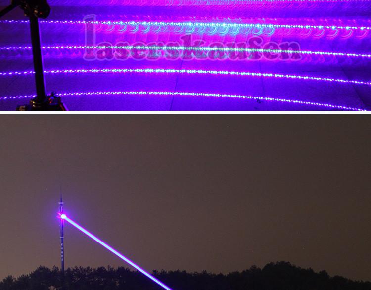 Laserpointer 30W Blau
