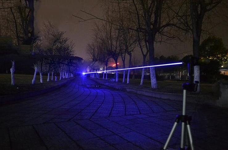 Starker Laserpointer 3000mW Blau