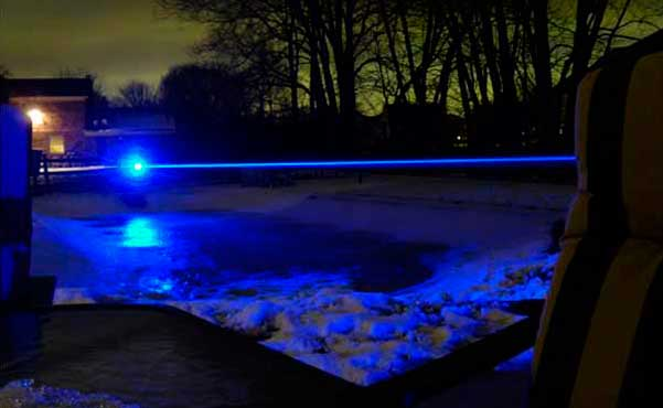 ultra starker blauer  laserpointer 10000mw
